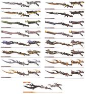 LightningGunblades