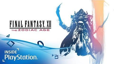 Final Fantasy XII The Zodiac Age - Gameplay-Trailer