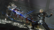 Kampf gegen einen Wolf Stanger of Paradise Final Fantasy Origin