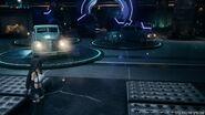 Shinra Gebäude Lobby Fahrzeugausstellung Final Fantasy VII Remake