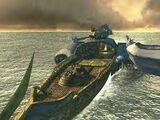 Schiff der weißen SeeDs