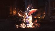 Kampf gegen einen Dragoon Final Fantasy XVI Awakening Trailer