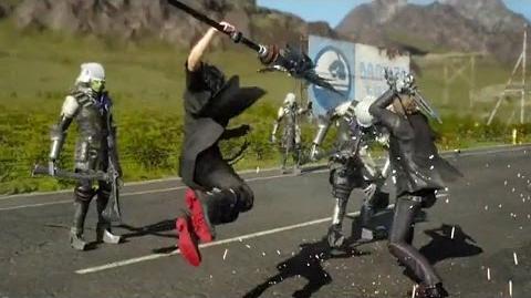 Final Fantasy 15 Episode Duscae - Vorschau-Video So funktioniert das Kampfsystem