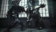 Protagonist im Kampf gegen einen Greifen Stranger of Paradise Final Fantasy Origins