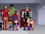 Fineasz i Ferb: Misja Marvel