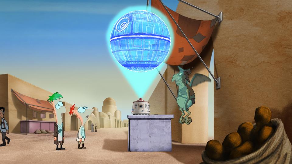 Fineasz i Ferb: Star Wars