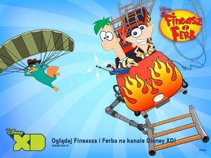 Plakat promujący serial na Disney XD