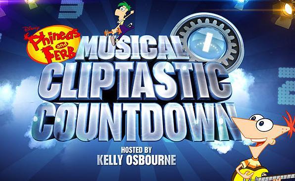 Fineasza i Ferba Muzyczno-Klipowe Odliczanie prowadzone przez Kelly Osbourne