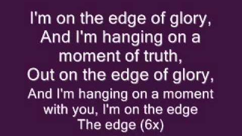 Lady Gaga - Im on the Edge of Glory (Lyrics)