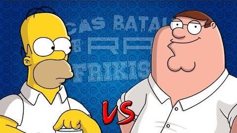 Épicas Batallas de Rap del Frikismo Homer vs Peter