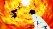 Shinra Kusakabe vede il Demone