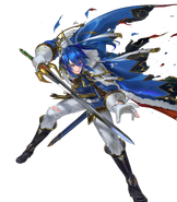 Seliph Legend Injured