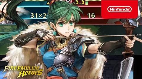 Fire Emblem Heroes - Legendary Hero (Lyn Lady of the Wind)