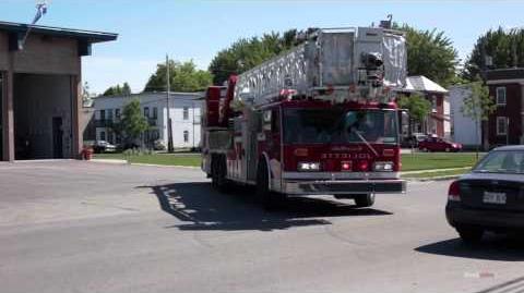 Service des incendies de Joliette - Unité 251 et 457