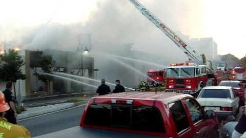 Structure Fire - Burbank, CA.mov