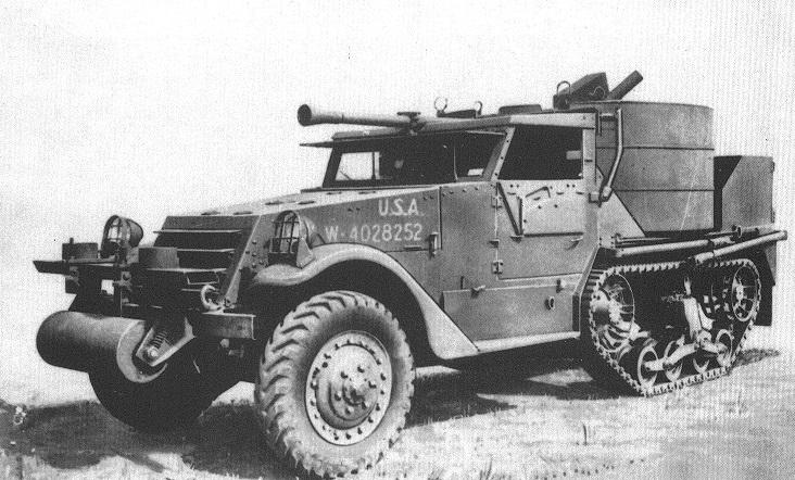 40mm Gun Motor Carriage, T54E1