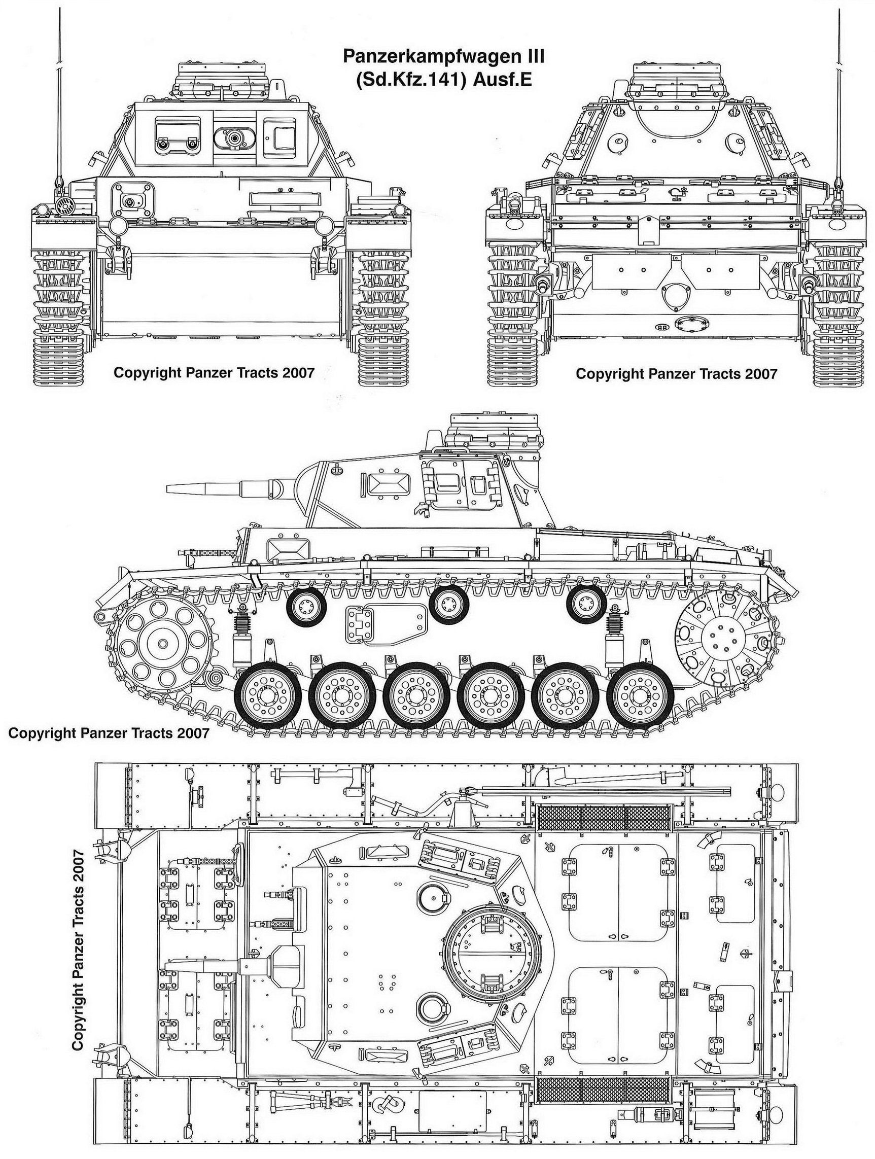 Panzerkampfwagen III Ausf. E