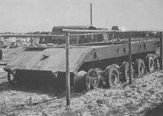 E-100 hull front