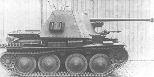 7,5cm PaK 40/3 (Sf) auf Panzerkampfwagen 38(t) Ausf. H