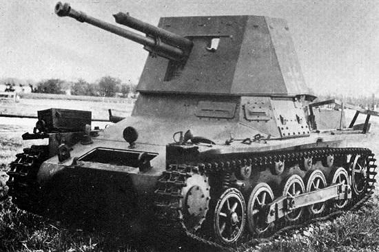 4,7cm PaK 36(t) (Sf) auf Fahrgestell Panzerkampfwagen I