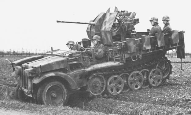 2cm FlaK 38 auf leichter Zugkraftwagen 1t