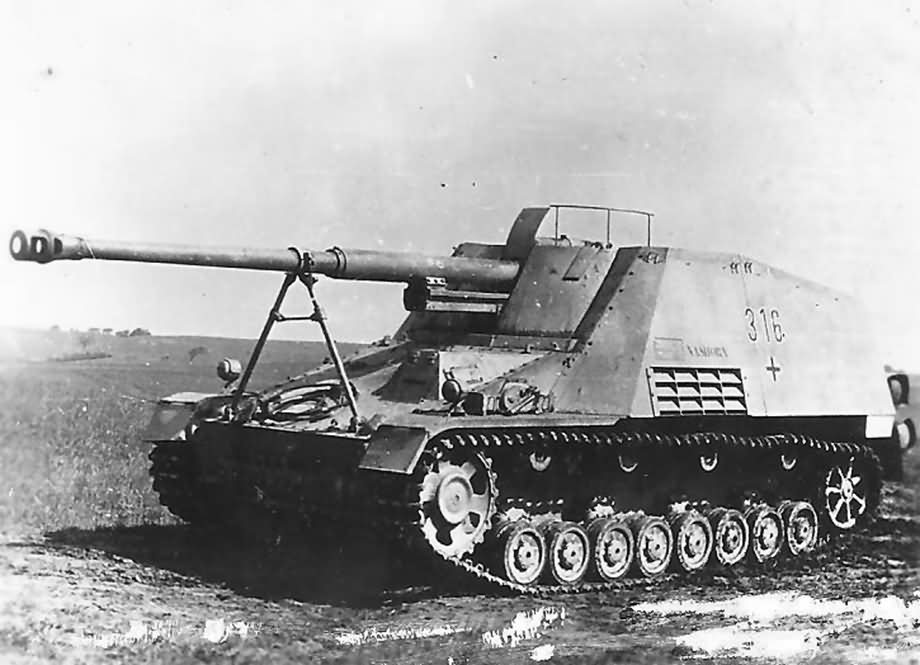 8,8cm PaK 43/1 L/71 auf Geschützwagen III/IV (Sf)