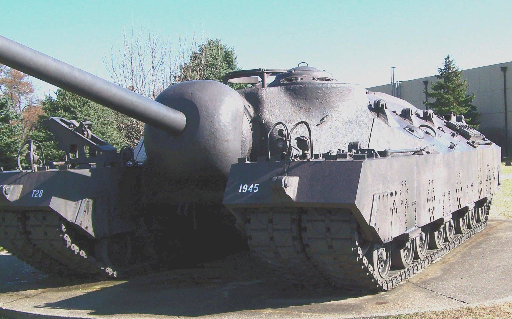 Super Heavy Tank, T28