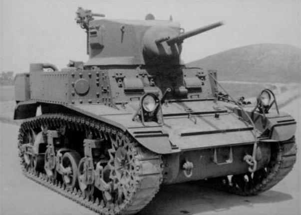 Light Tank, M3A1