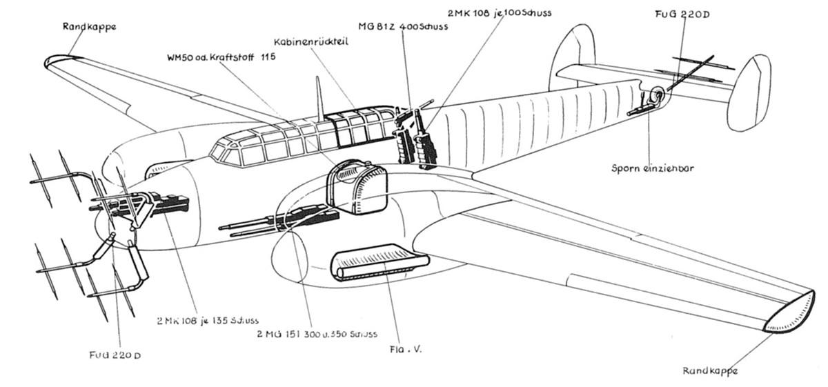 Messerschmitt Bf 110H