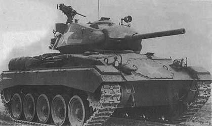 Light Tank, M24