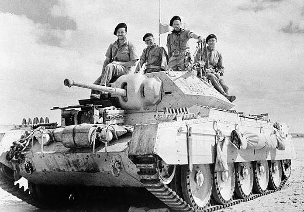 Cruiser Tank Mk. VIa, Crusader Mk. II
