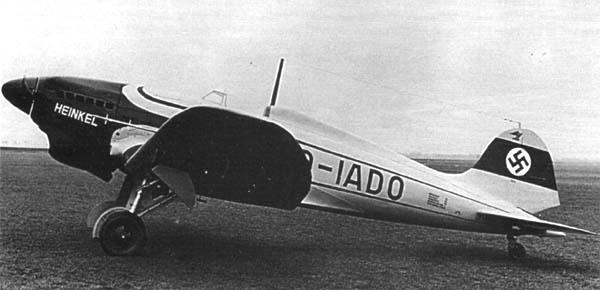 Heinkel He 112 V1
