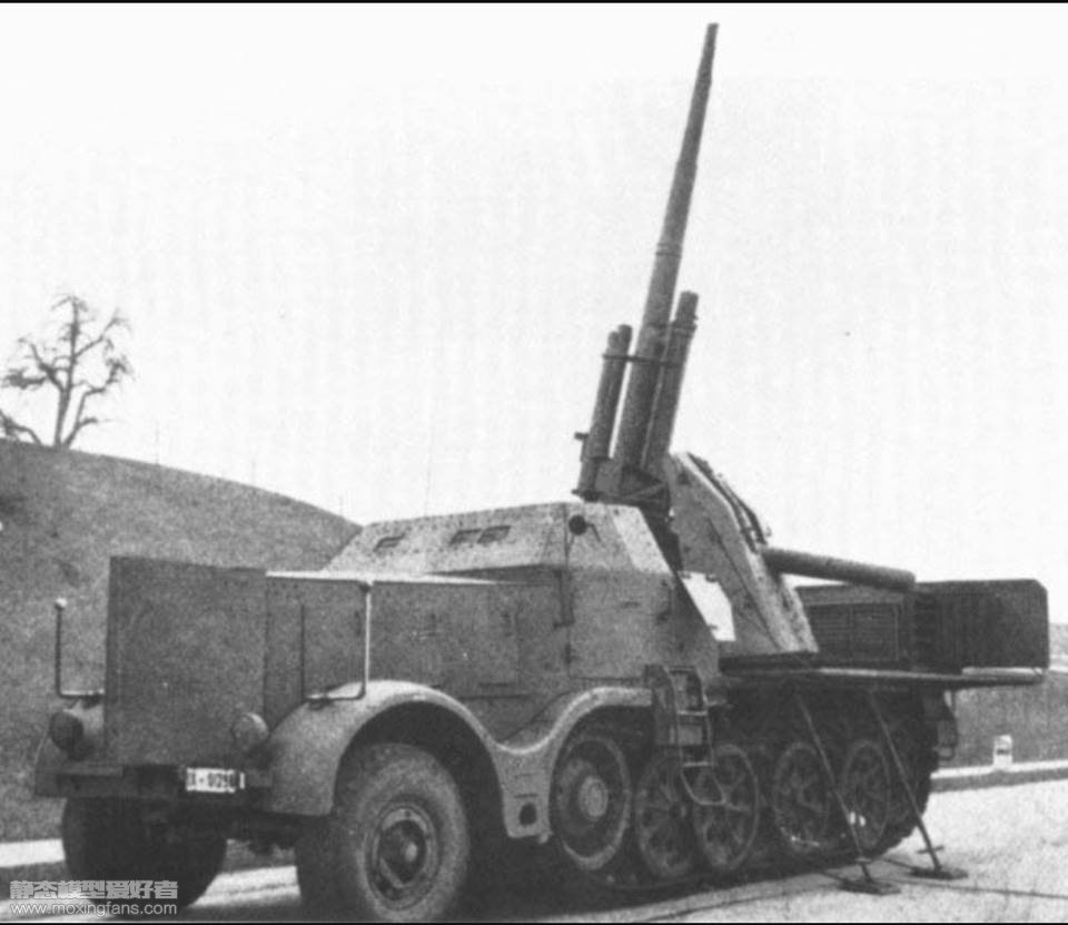 8,8cm FlaK 37 (Sfl.) auf schwerer Zugkraftwagen 18t