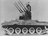 Multiple Gun Motor Carriage, T100