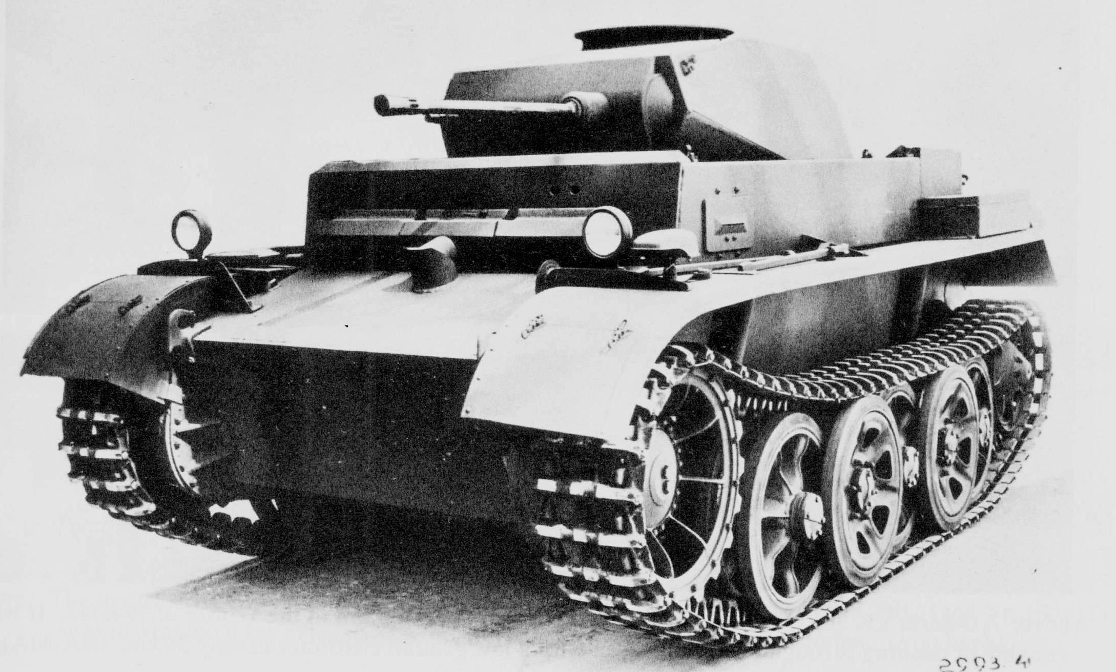 Panzerkampfwagen II Ausf. G