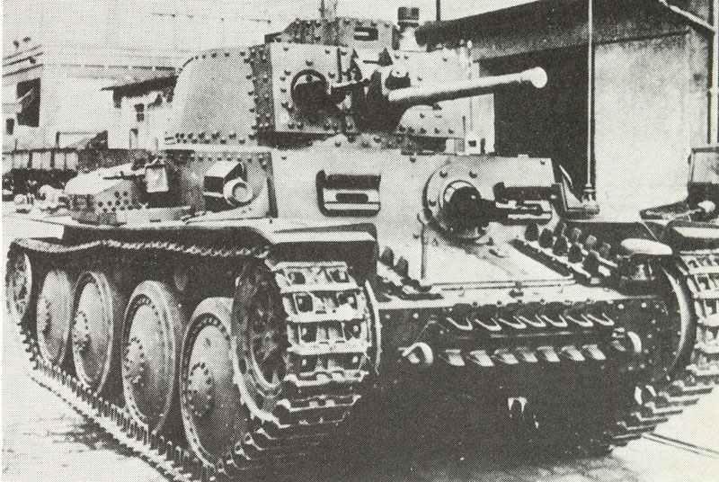 Panzerkampfwagen 38(t) Ausf. G