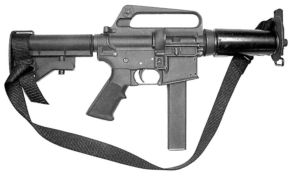 Colt 9mm SMG DOE