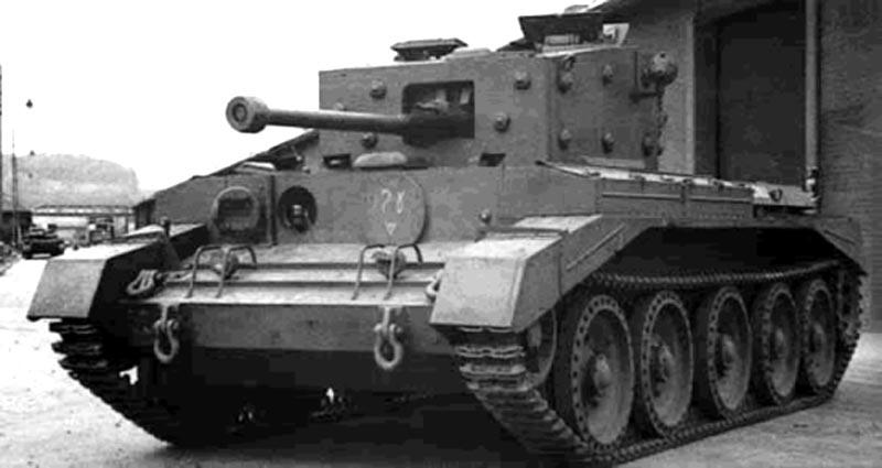 Cruiser Tank Mk. VII, Cavalier