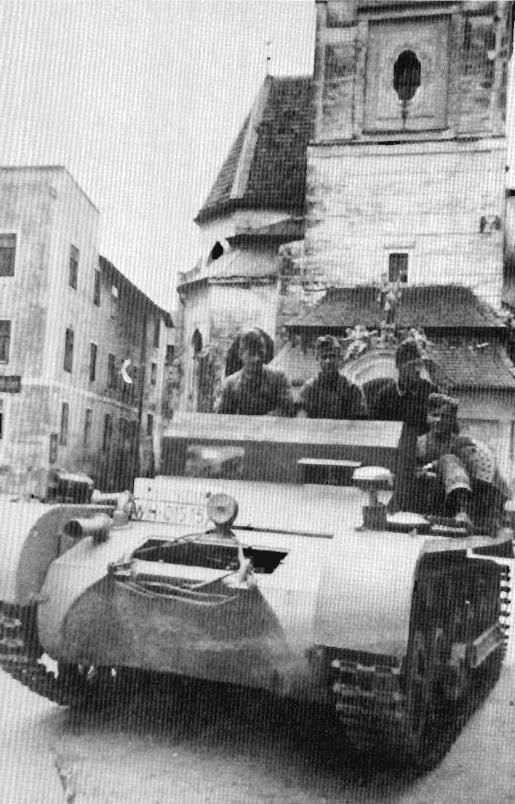 Panzerkampfwagen I Ausf. B ohne Aufbau