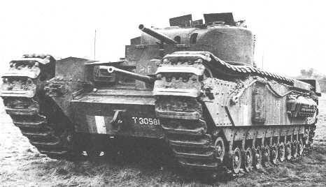 Infantry Tank Mk. IV, Churchill Mk. II CS