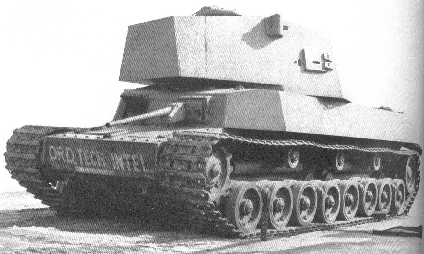 Experimental Type5 Medium Tank 'Chi-Ri'