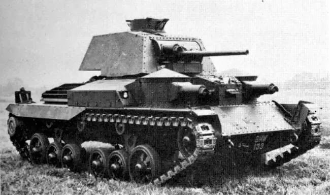 Cruiser Tank Mk. I