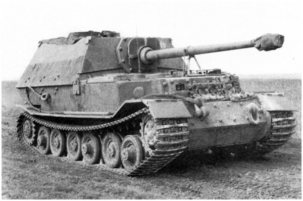 Panzerjäger Tiger(P) Elefant