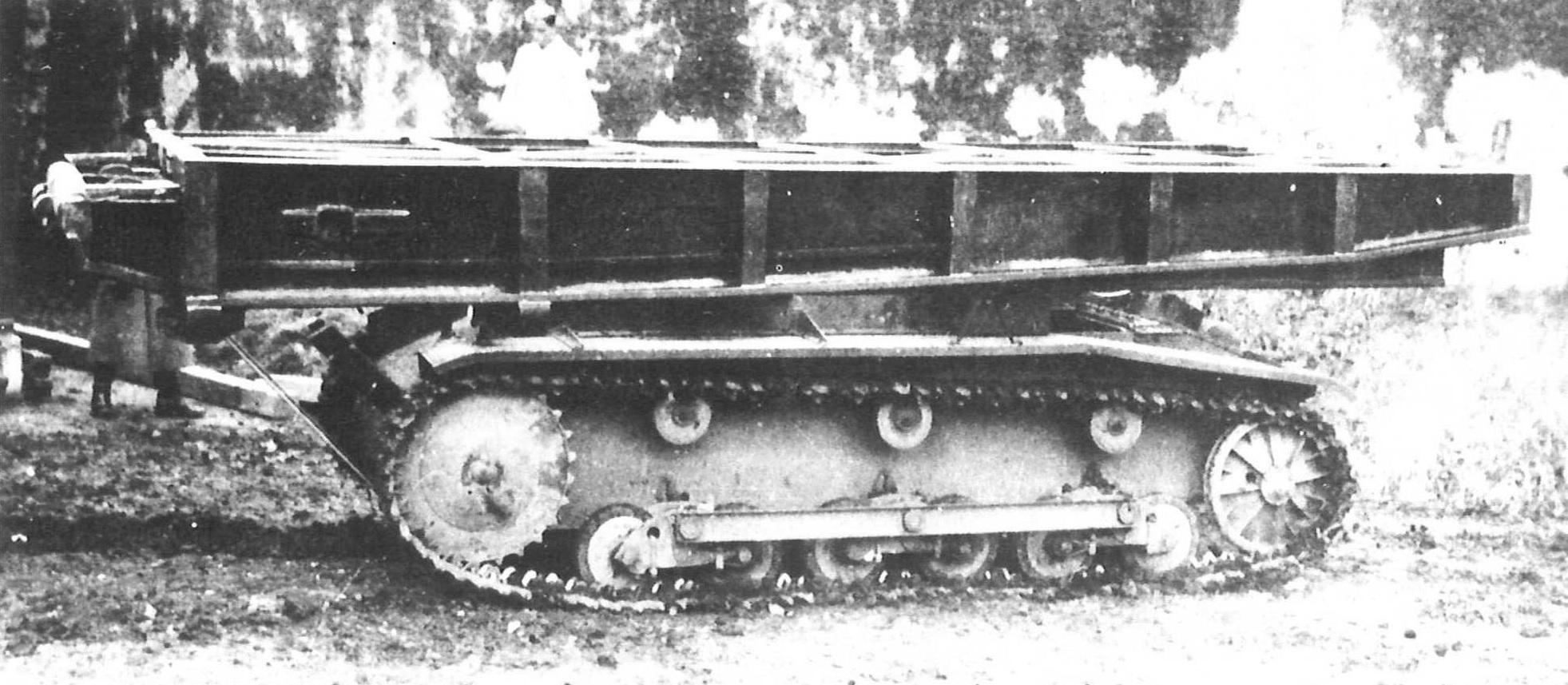 Brückenleger auf Panzerkampfwagen II Ausf. B
