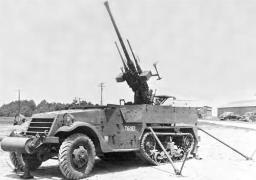 40mm Gun Motor Carriage, T60E1