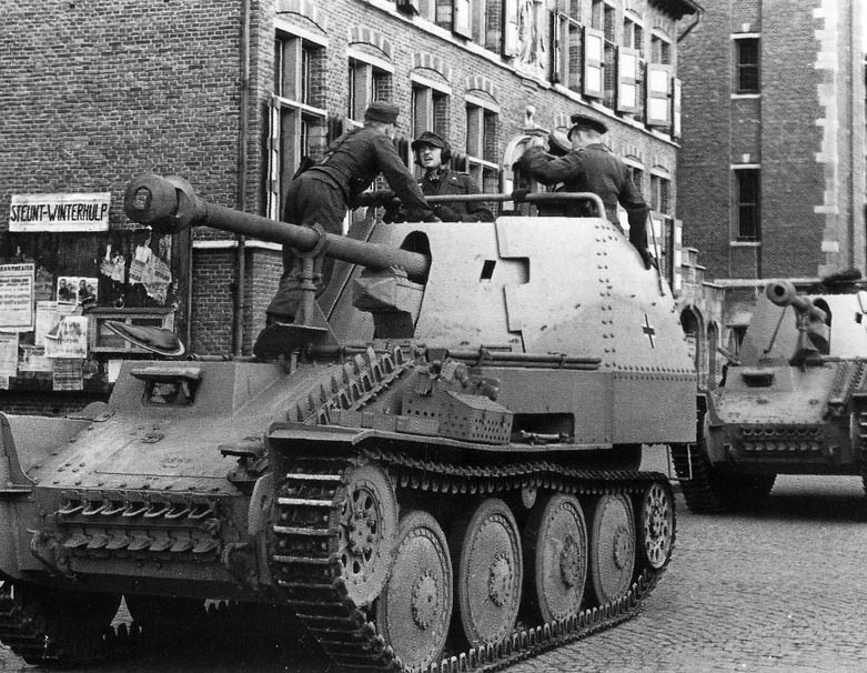 Panzerjäger 38(t) mit 7,5cm PaK 40/3 Ausf. M