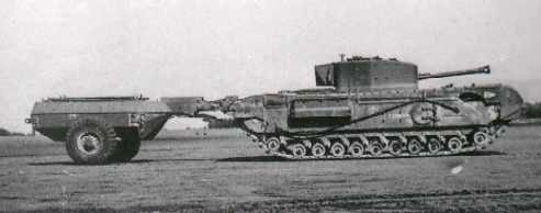 Infantry Tank Mk. IV, Churchill Mk. VII Crocodile