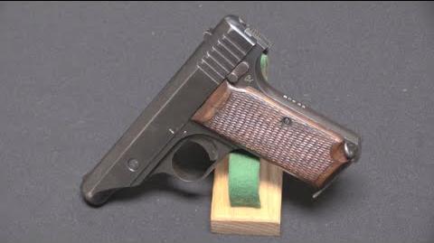 Japanese 7,65mm Hamada Pistol