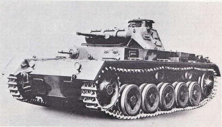 Panzerkampfwagen III Ausf. A