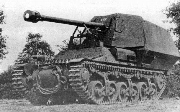 7,5cm PaK 40/1 (Sf) auf Geschützwagen LrS(f)
